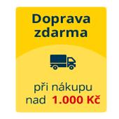 doprava zdarma při nákupu nad 1000